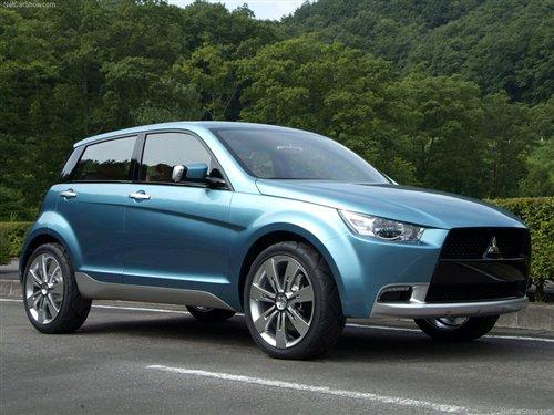 三菱CX概念车-入门级SUV和小型车 三菱未来2款入华新车前瞻高清图片