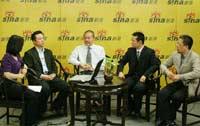 王石任学安等聊2007CCTV中国年度雇主调查
