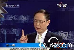 国家发改委宏观经济研究院副院长王一鸣