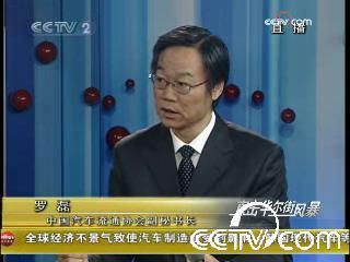 中国汽车流通协会副秘书长罗磊