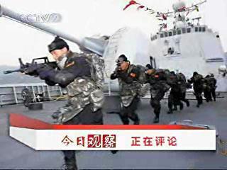 中国海军护航索马里