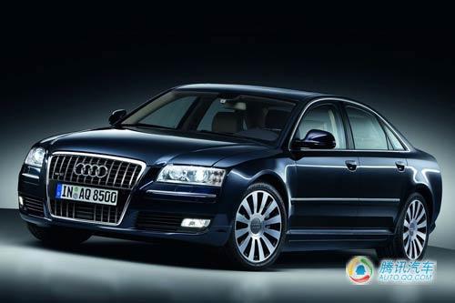 奥迪A8推出升级车型 有望上海车展首发