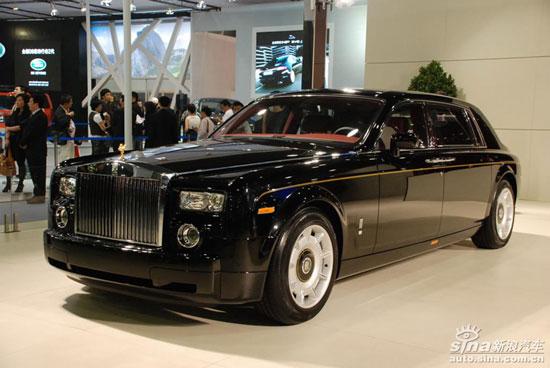 最耀眼的模仿车型:中国劳斯莱斯吉利GE-细数上海车展八大 模仿 车型高清图片