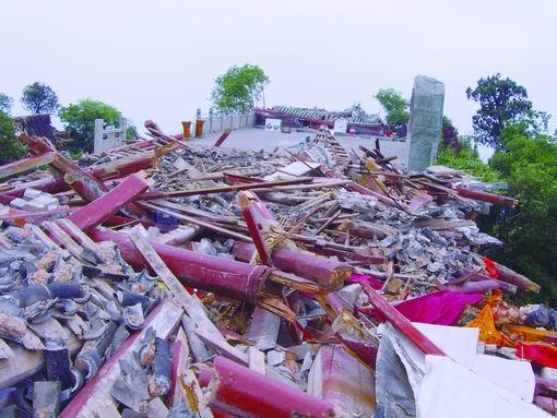 震后的云岩寺
