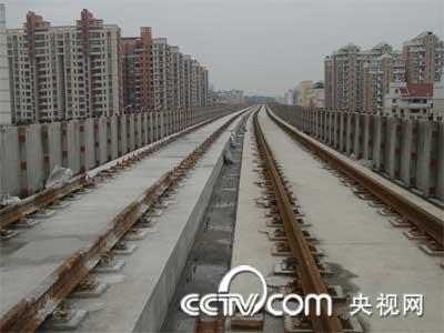青岛市地铁一期工程(3号线)轨道工程钢弹簧浮置板道床